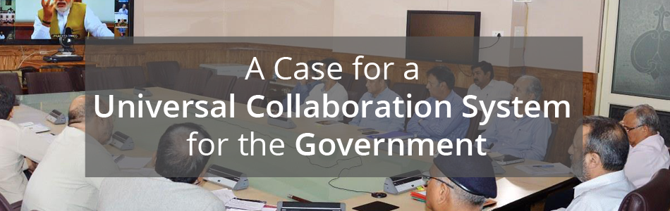 Blog banner - A Case for a Universal Collaboration System for the Government